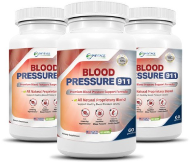 Blood Pressure 911 Supplement