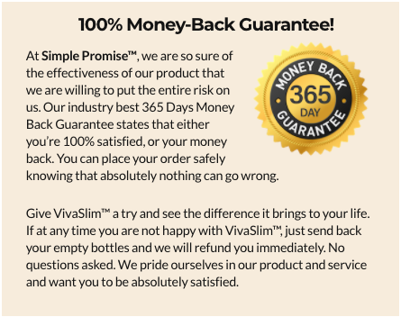 Simple Promise VivaSlim Testimonials