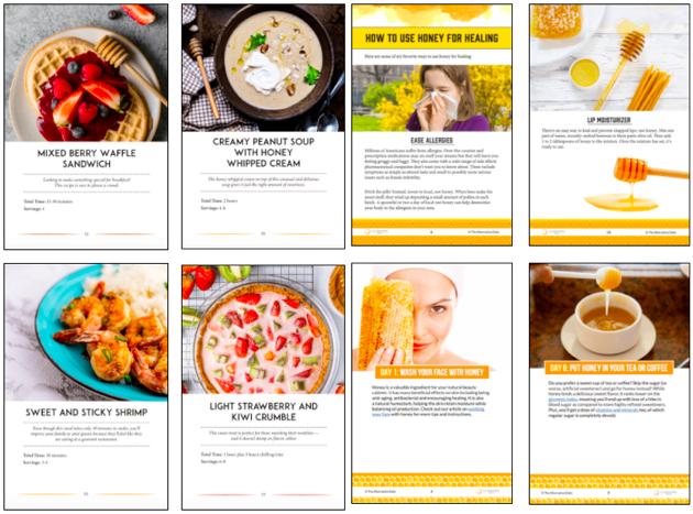 The Honey Healing Kitchen Recipes