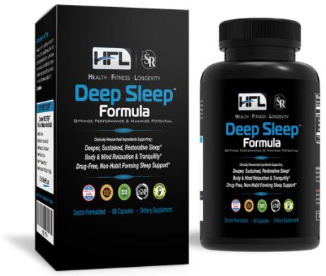 HFL Deep Sleep Formula Supplement