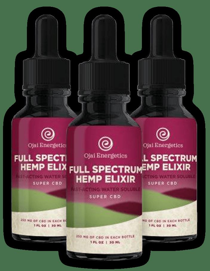 Ojai Energetics Full Spectrum Hemp Elixir Reviews