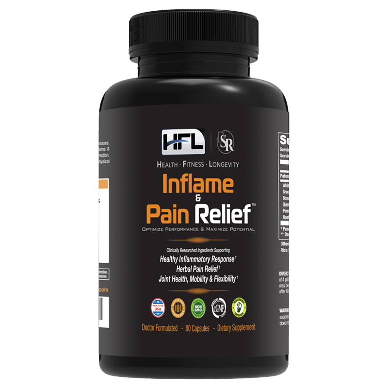 Inflame & Pain Relief Supplement