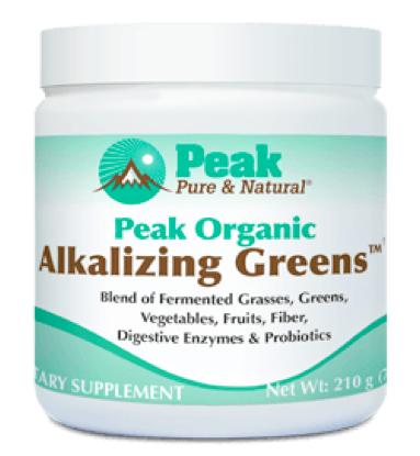 Peak Organic Alkalizing Greens Review