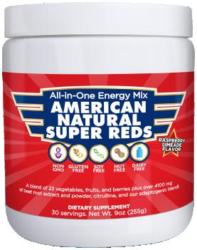 American Natural Super Reds Supplement