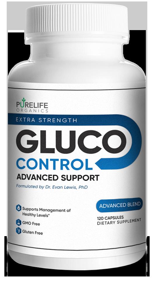 Purelife Organics Gluco Control Supplement