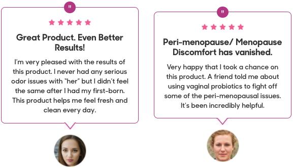 Vaginal Probiotics Sweet Lotus Testimonials